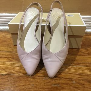 Pink Vince Camuto Slingbacks- ONLY WORN ONCE